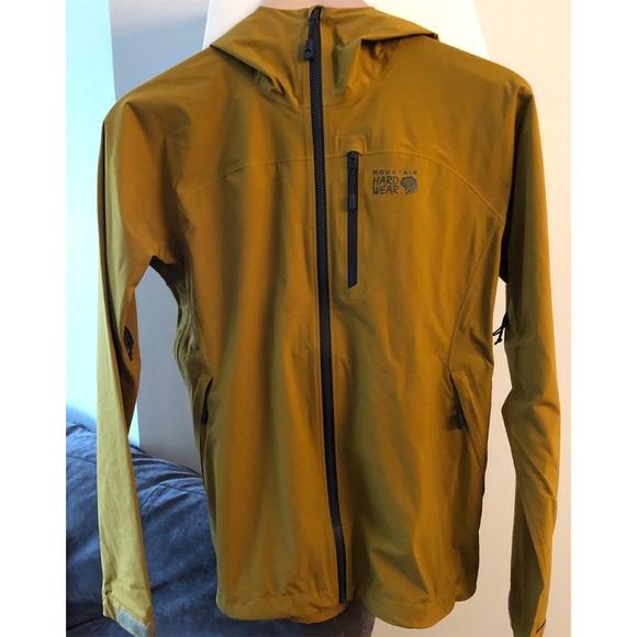 Mountain Hardwear Stretch Ozonic Rain Jacket (NEW)